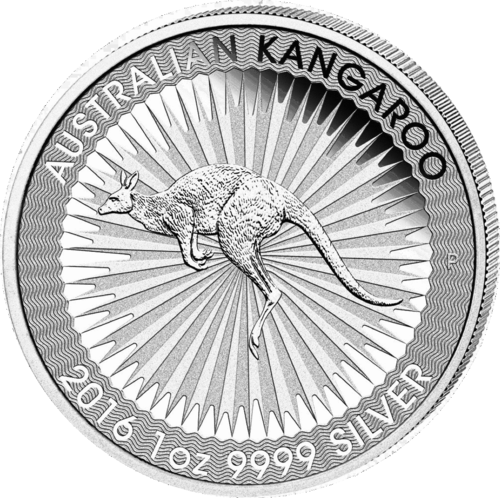 1 Dollar 2016 Känguruh Perth Mint