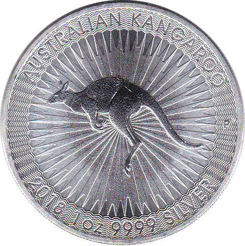 1 Dollar 2018 Känguruh Perth Mint