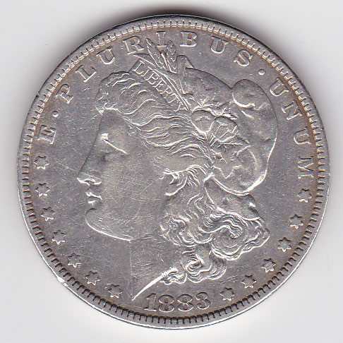 Dollar 1883 Morgan Typ