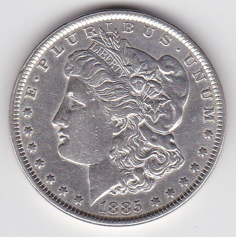 Dollar 1885 Morgan Typ