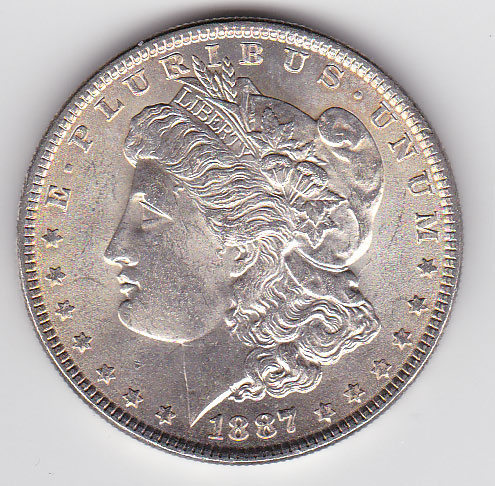 Dollar 1887 Morgan Typ