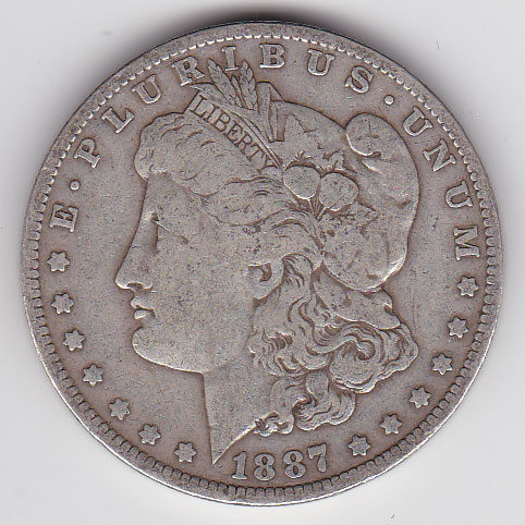 Dollar 1887O Morgan Typ