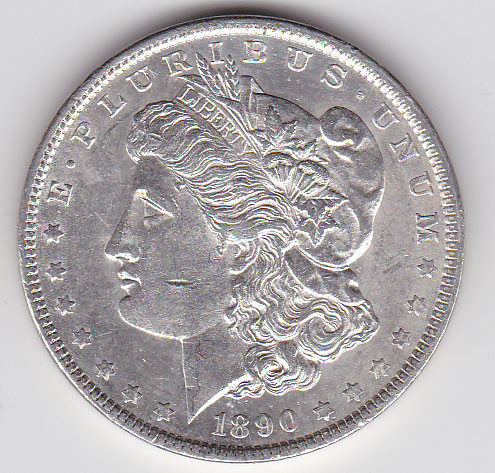 Dollar 1890 Morgan Typ