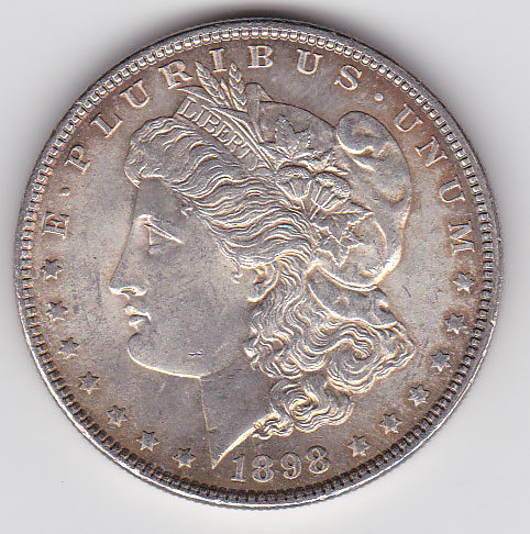 Dollar 1898 Morgan Typ