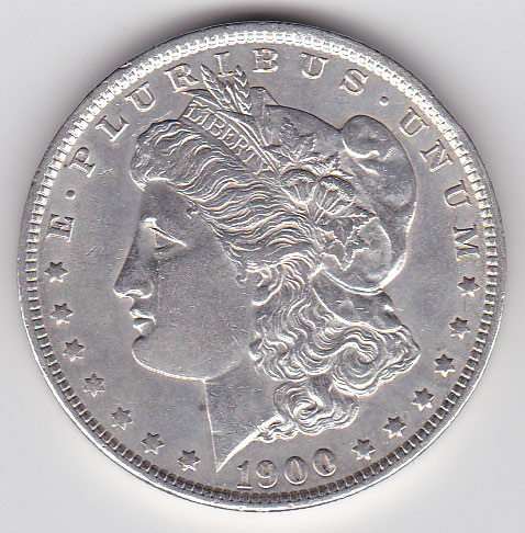 Dollar 1900 Morgan Typ