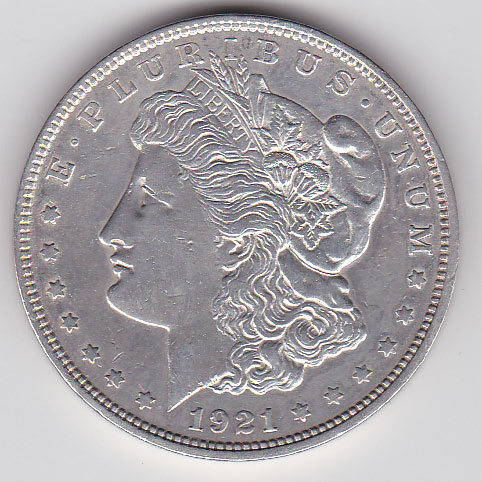 Dollar 1921 Morgan Typ