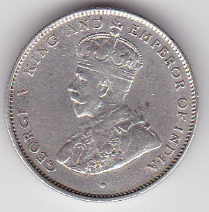50 Cents 1914 König George V.