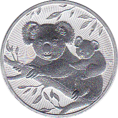 2 Dollar 2018 Koala - Next Generation. Doppelunze