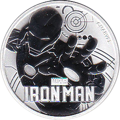 1 Dollar 2018 Iron Man