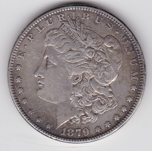 Dollar 1879 Morgan Typ