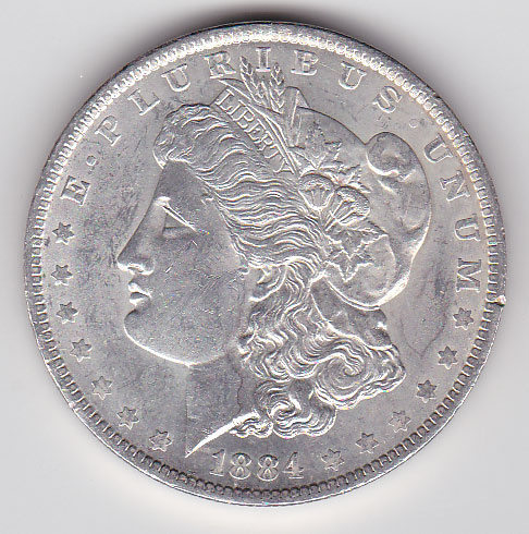 Dollar 1884O Morgan Typ
