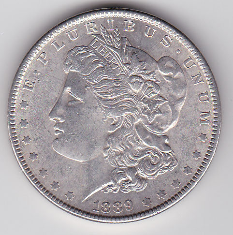 Dollar 1889 Morgan Typ