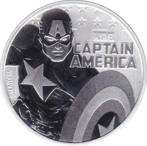 1 Dollar 2019 Captain America