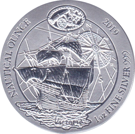 50 RWF 2019 Schiff Victoria - Nautical-Silberunze