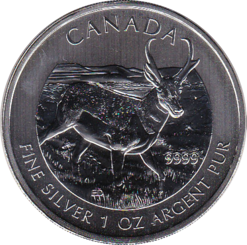 5 Dollar 2013 Antilope
