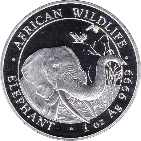 100 Shillings 2018 Elefant