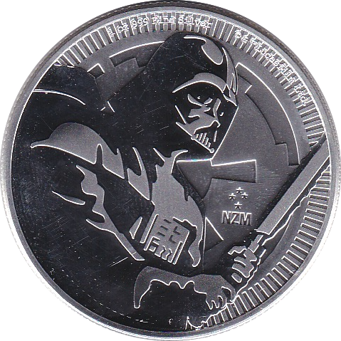 2 Dollar 2020 Star Wars Darth Vader