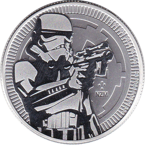 2 Dollar 2018 Stormtrooper
