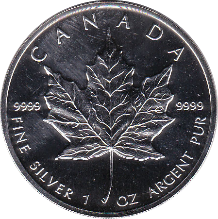 5 Dollar 1993 Maple Leaf