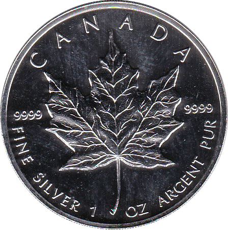 5 Dollar 1995 Maple Leaf