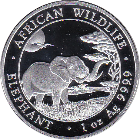 100 Shillings 2019 Elefant