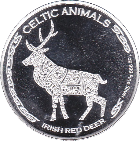 500 Francs 2019 Rothirsch - Celtic Animals