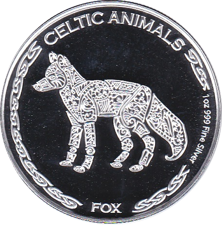 500 Francs 2019 Fuchs - Celtic Animals